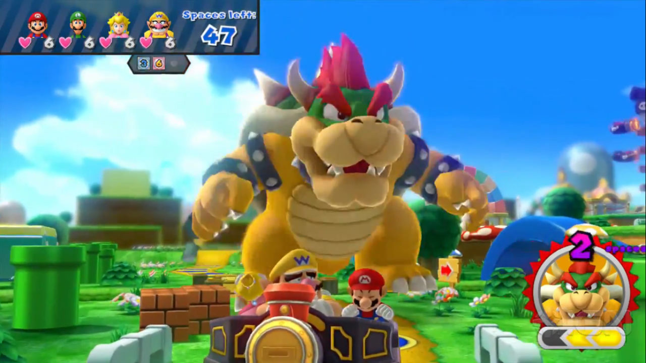 Video Mario Party 10 Bowser Party Tv Commercial Pure