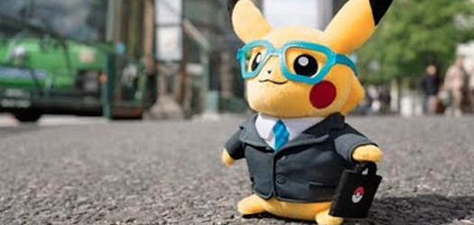 Business Suit Pikachu Kicks Off Pokémon Plush of the Month