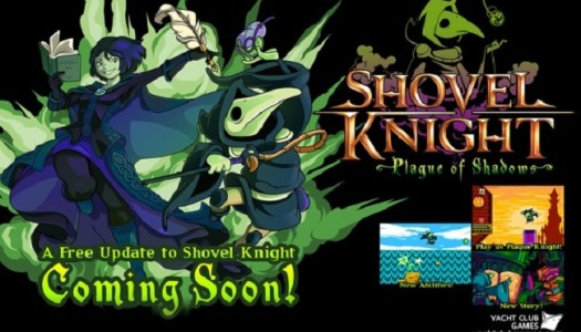 Shovel Knight: Plague of Shadows Free Expansion Coming Soon