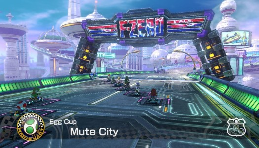 Video: Mario Kart 8 200cc – Mute City