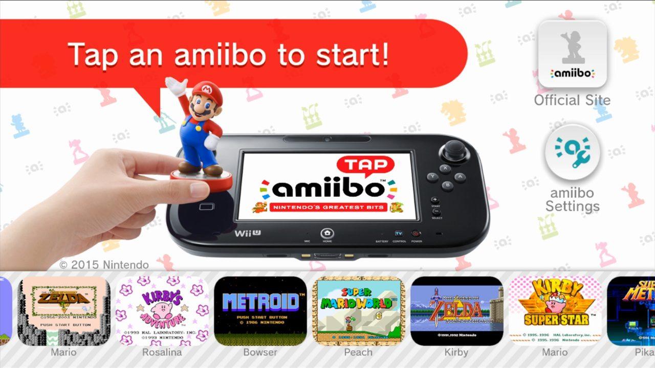 amiibo tap Nintendos Greatest Bits