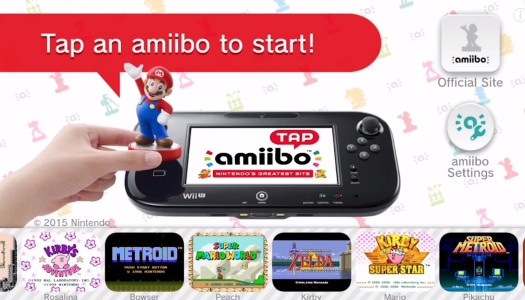 Amiibo Tap: Nintendo's Greatest Bits Announced