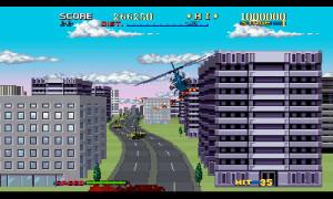 3D Thunder Blade - city