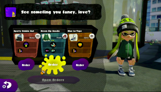 Splatoon Direct: Gear