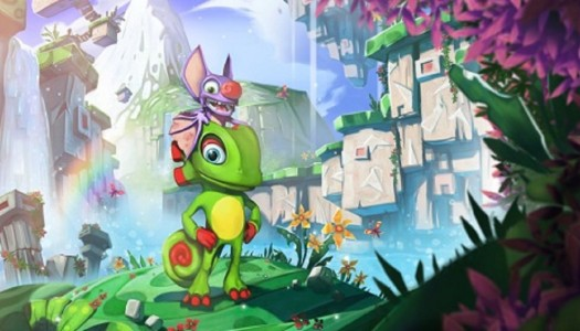 Yooka-Laylee's newest support character is a serpent