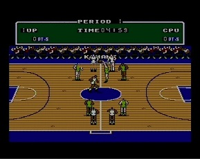 Double Dribble - tip off