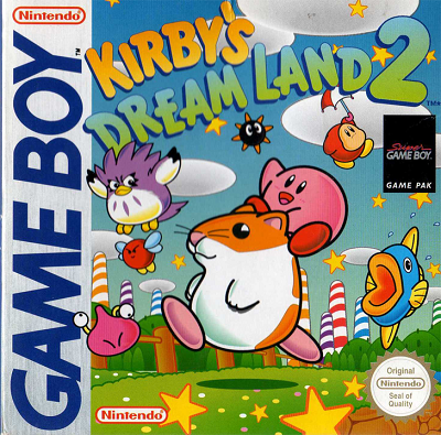 Kirby's Dream Land 2 - title