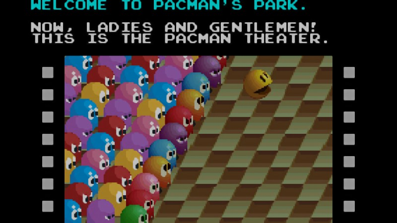 Pac-Mania cinema