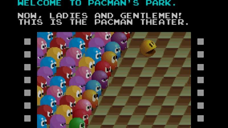 Pac-Mania cinema