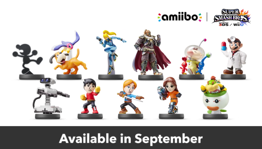 Smash Direct Announces More Amiibos