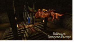 Solitaire Dungeon Escape - title