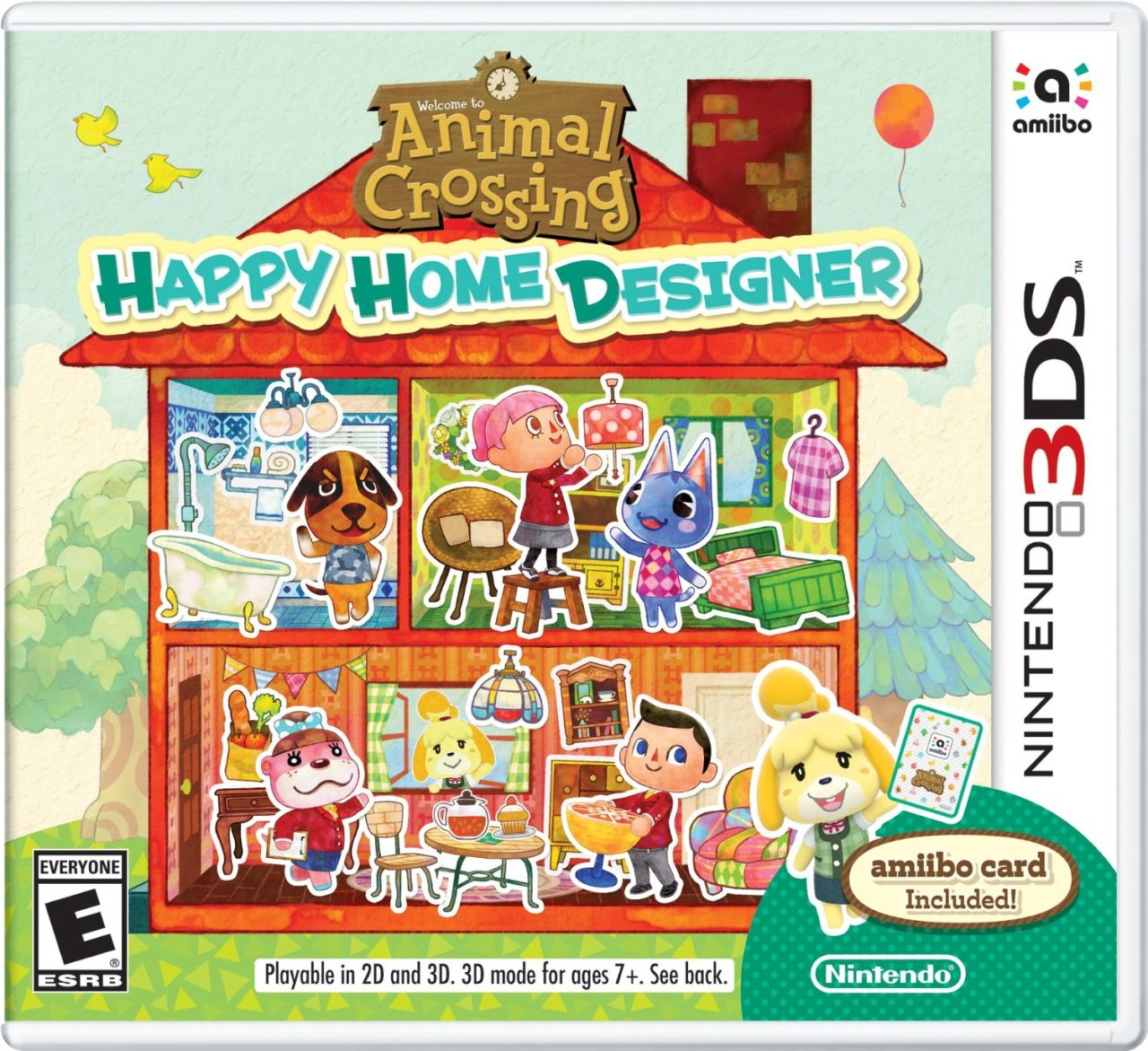 Animal Crossing: Happy Home Designer Bundle Includes NFC Reader  Pure