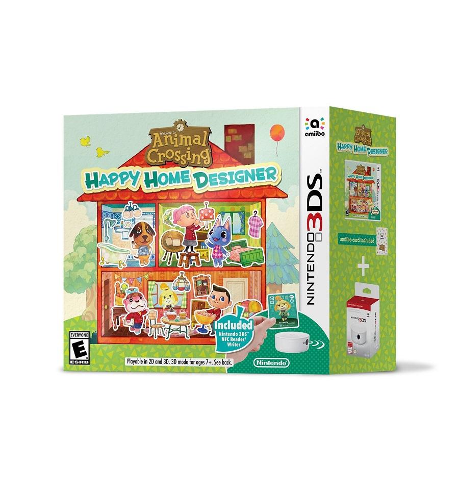 Animal Crossing Happy Home Designer Bundle Includes Nfc Reader Pure Nintendo