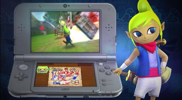 how to play wind waker on 3ds