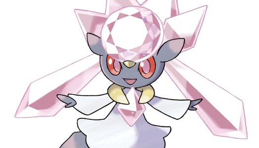Mythical Pokémon Diancie distribution on Nintendo Network starting this Friday
