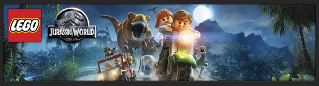 Lego Jurassic World - banner