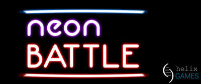 Neon Battle - title