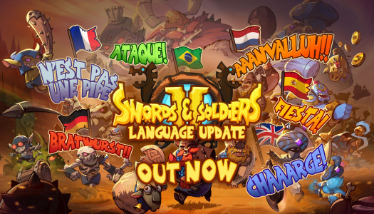 Update adds New Languages to Swords & Soldiers II