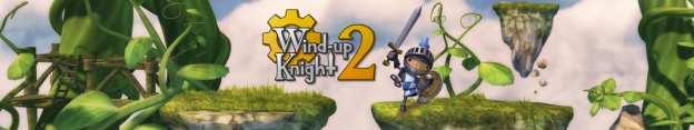 Wind-up Knight 2 - banner