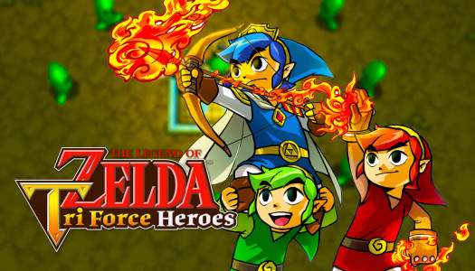 Zelda: Tri Force Heroes Preview trailer