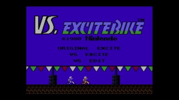 Vs. Excitebike title