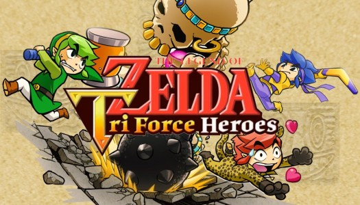 The Legend of Zelda: Tri Force Heroes Demo is hitting the eShop today