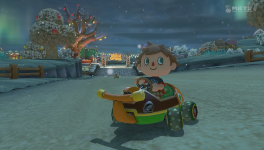 Mario Kart 8: Animal Crossing seasons montage