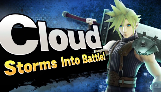 Cloud Joins the Ranks of Smash Bros