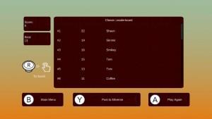 Totem Topple - leaderboard
