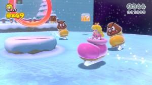 Super Mario 3D World - icy level
