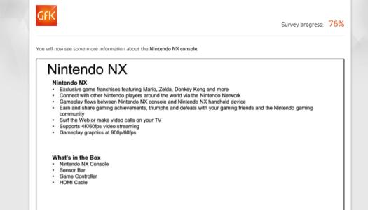 GFK survey shows apparent NX info