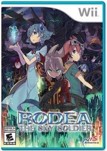 Rodea - Wii case