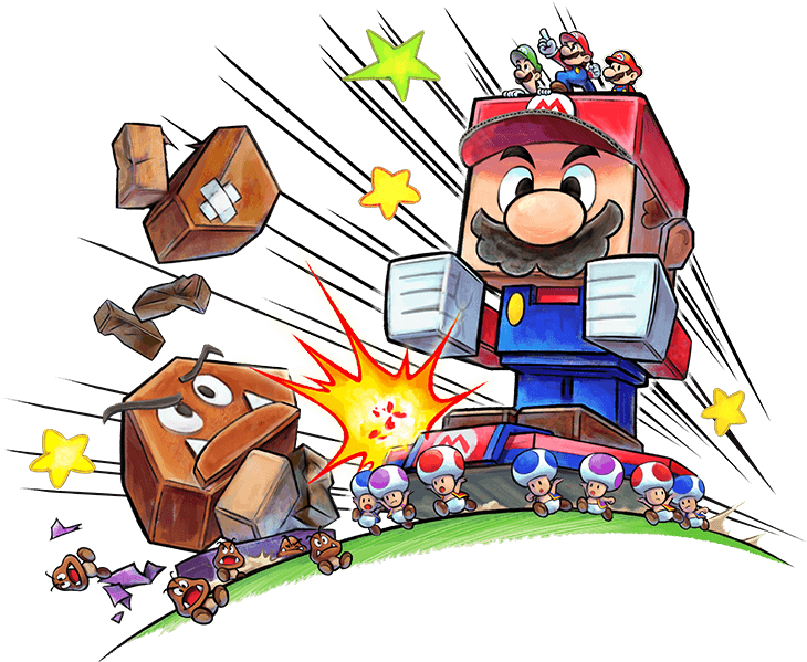Review Mario Luigi Paper Jam 3ds Pure Nintendo