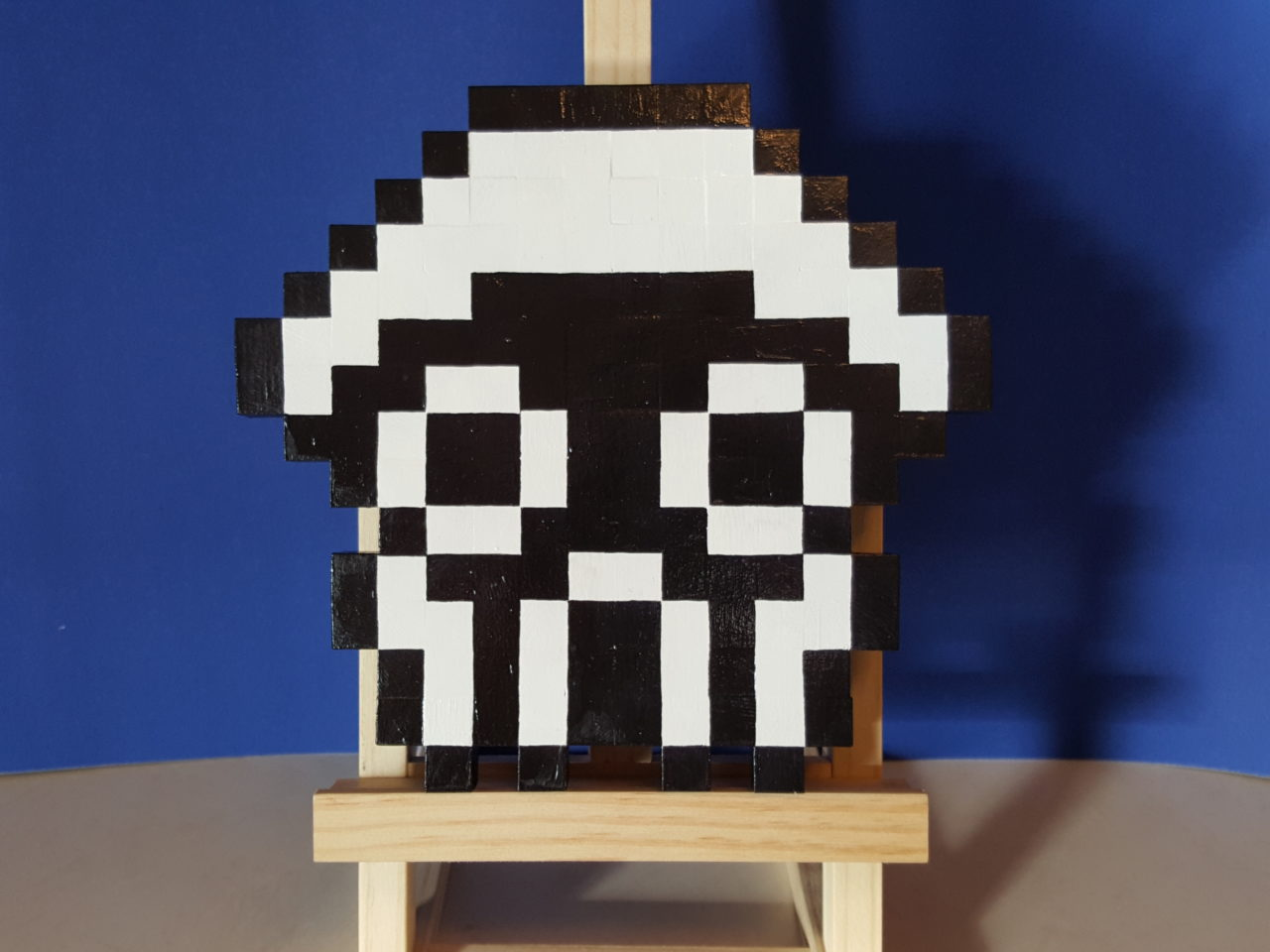 Blooper Wooden Sprite Plaque by MrGilder