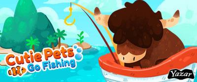 Cutie Pets Go Fishing - banner