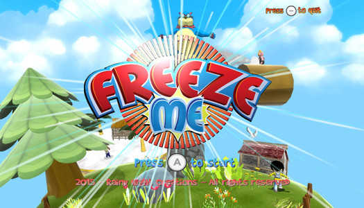 Review: FreezeME (WiiU eShop)