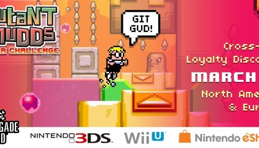 Mutant Mudds Super Challenge releases March 17 in North America and Europe