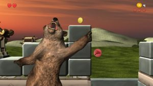 Epic Dumpster Bear - ouch