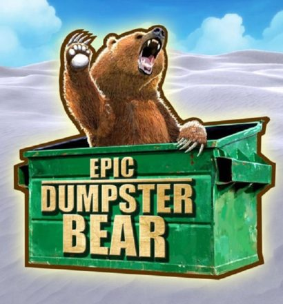Epic Dumpster Bear - title