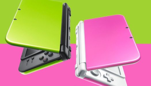 Lime and Pink New 3DS XL models coming to Japan