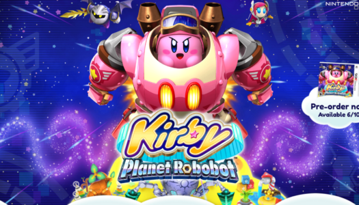 Kirby: Planet Robobot website now live