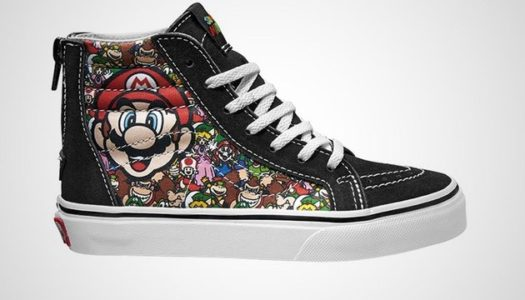 Nintendo and Vans team up for retro-inspired shoes