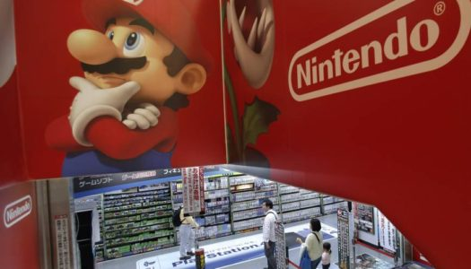 Nintendo leads Japan's April sales list