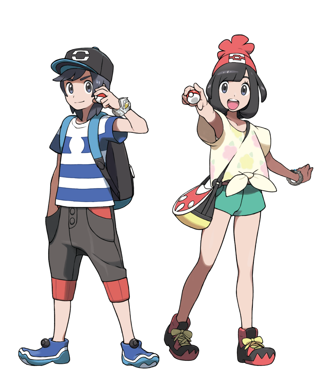 Pr Legendary Pokemon Unveiled For Pokemon Sun And Pokemon Moon