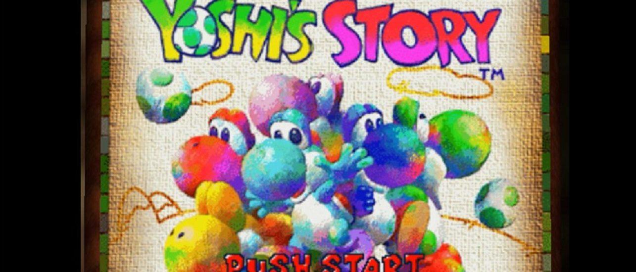 Yoshi Story - title