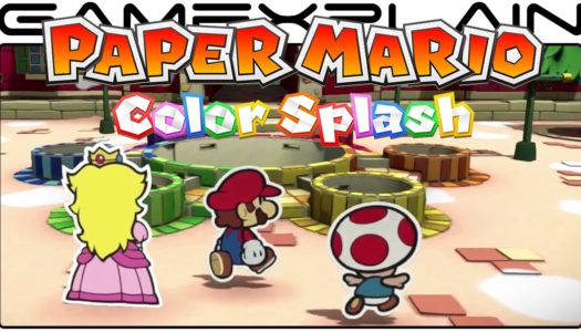 E3 2016: Nintendo announces launch date for Paper Mario: Color Splash