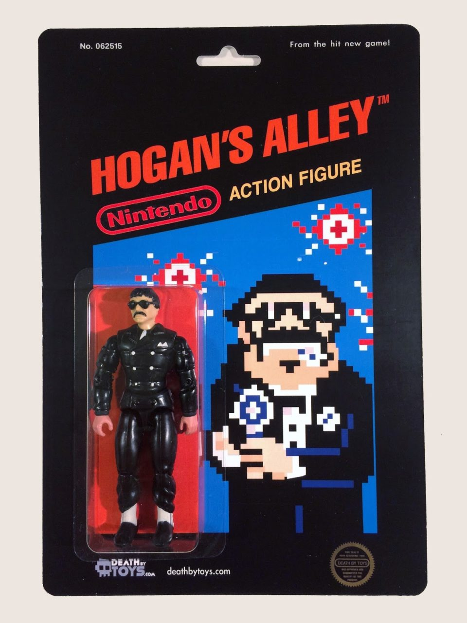 Custom Hogan's Alley action figure