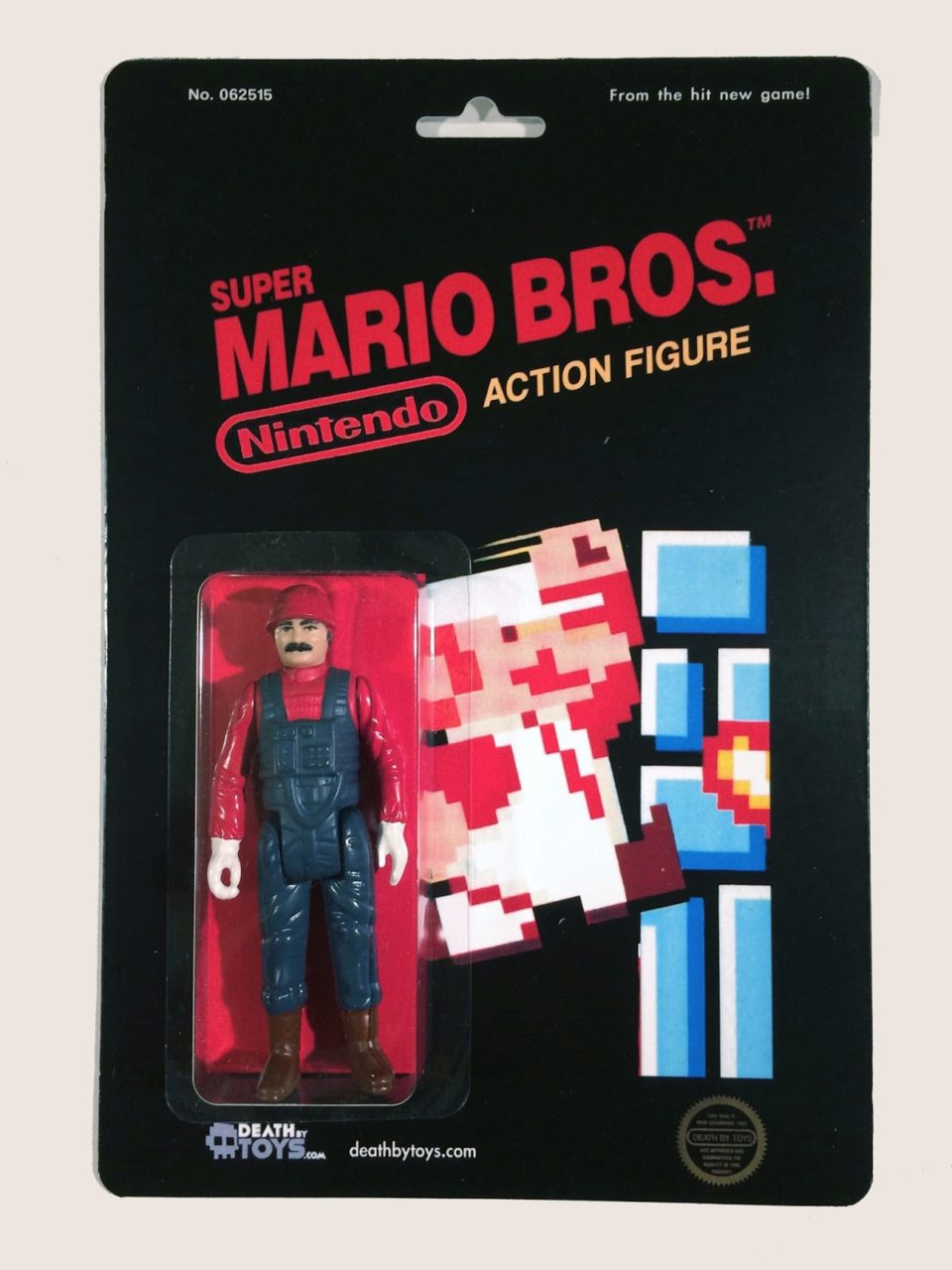 Custom Nintendo Mario Figure