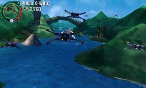 LEGO Force Awakens - 3DS flying