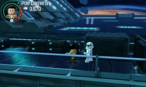 LEGO Force Awakens - 3DS gameplay